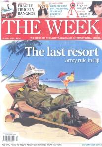 Frank the dictator of Fiji